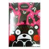 KUMAMON A4 透明文件夾(粉紅色)