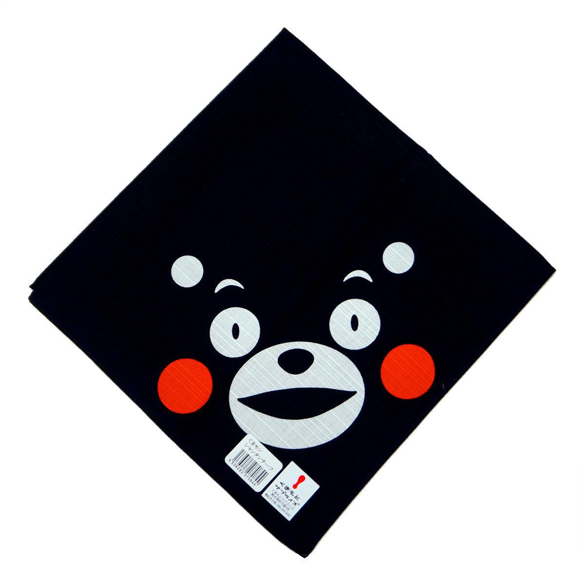 KUMAMON 日式便當布 (黑)