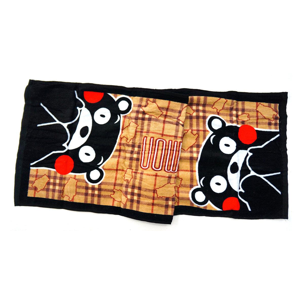 KUMAMON 運動毛巾 (茶)