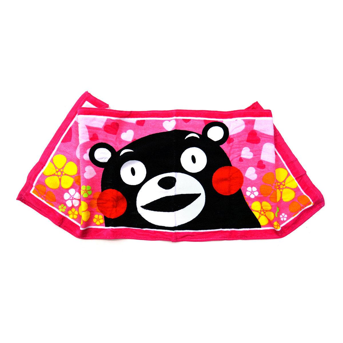 KUMAMON 運動毛巾 (粉紅)