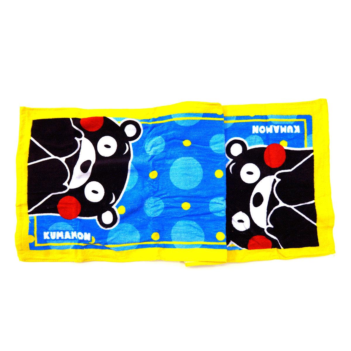 KUMAMON 運動毛巾 (藍)