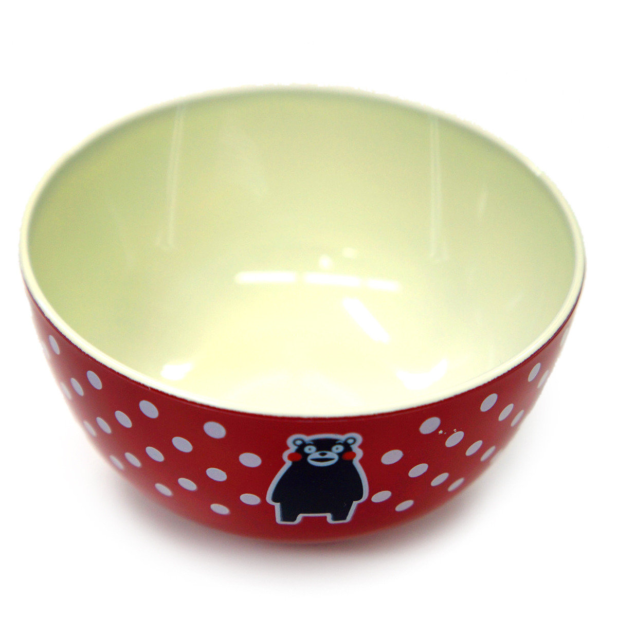 KUMAMON 飯碗 (紅)