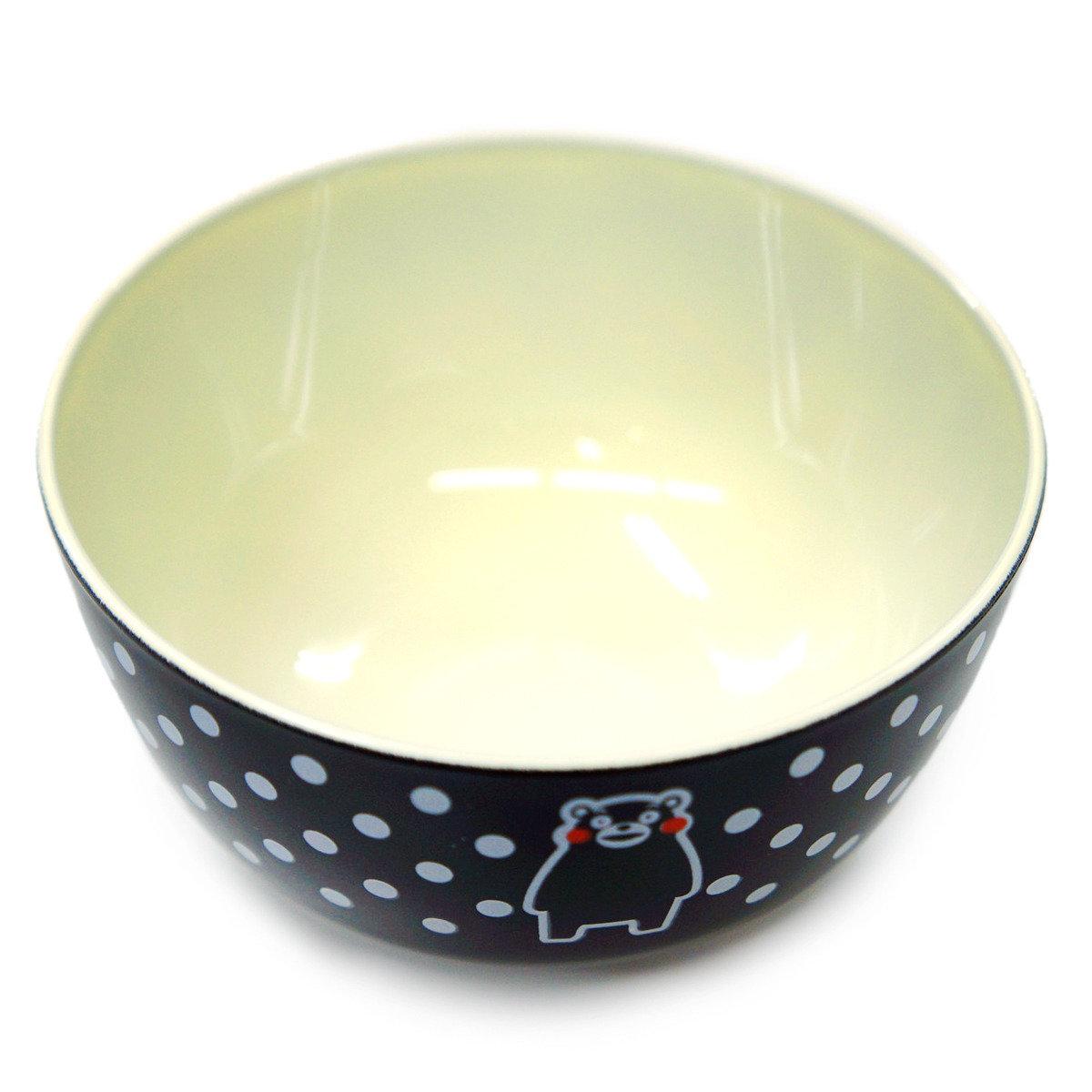 KUMAMON 飯碗 (黑)