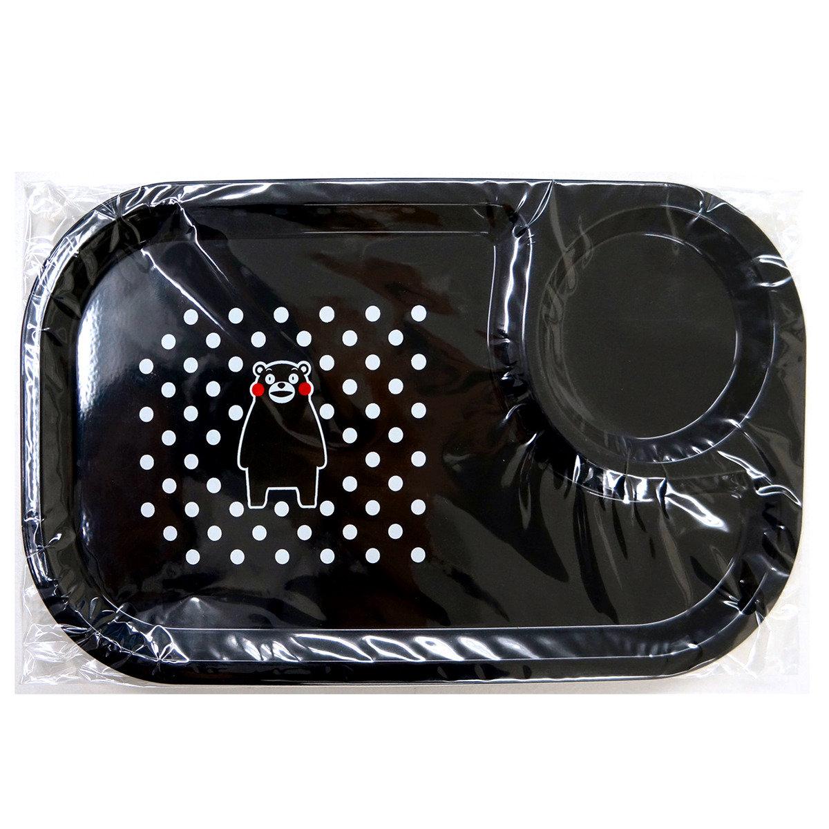 KUMAMON 餐盤 (黑)
