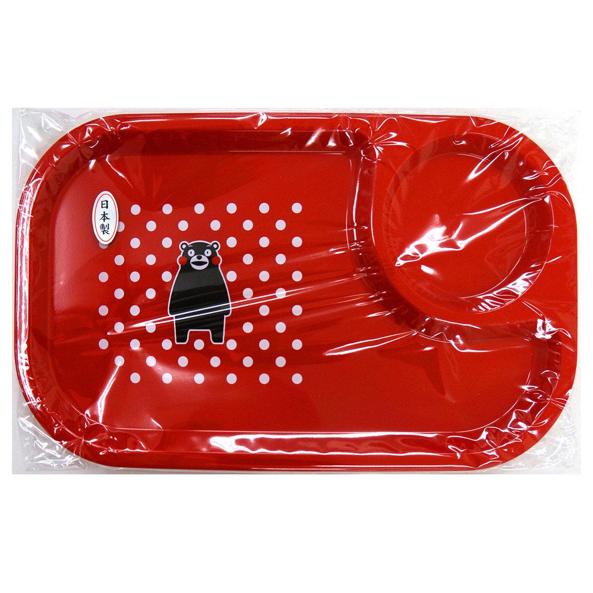 KUMAMON 餐盤 (紅)
