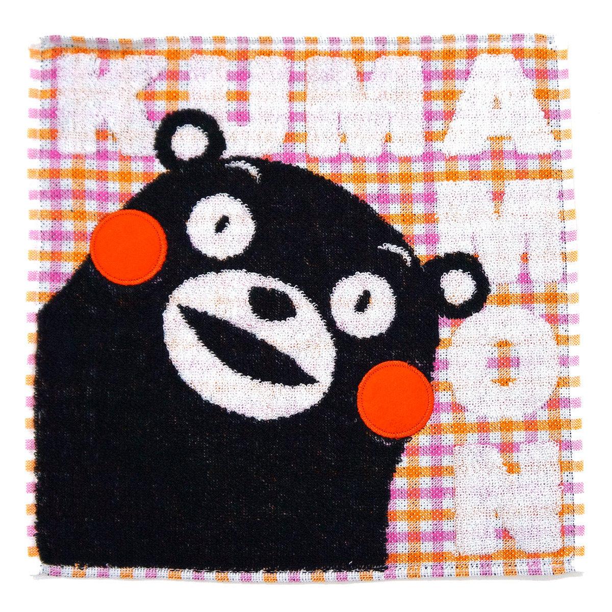 KUMAMON 格紋手帕