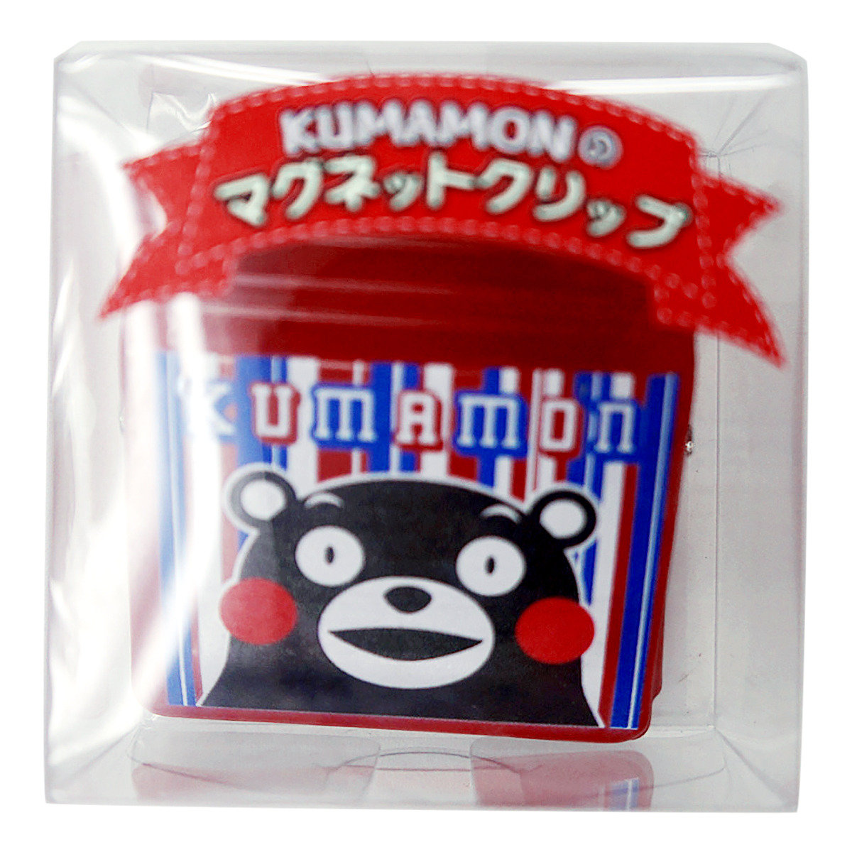 KUMAMON 磁石夾 (條紋)