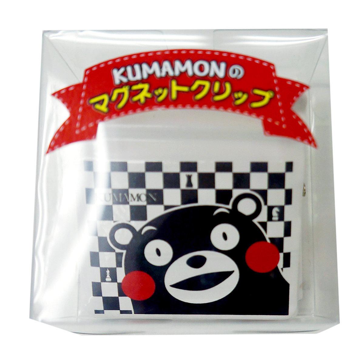 KUMAMON 磁石夾 (格紋)