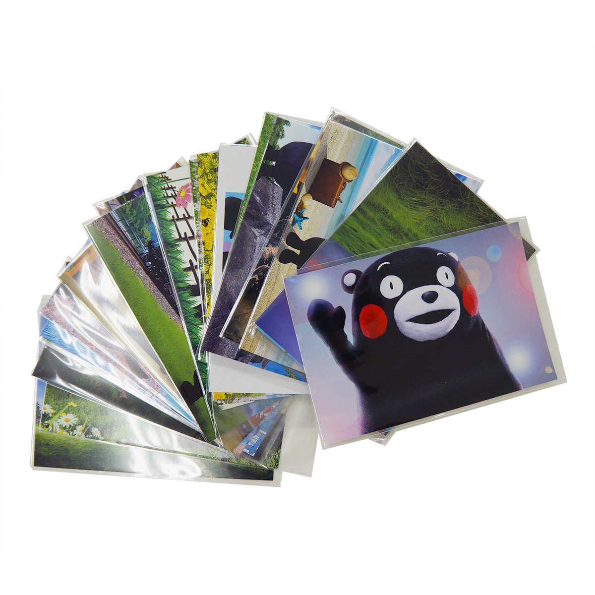 KUMAMON 明信片 (5張套裝)