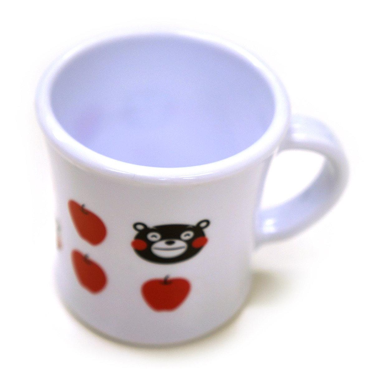 KUMAMON樹脂水杯 (蘋果)