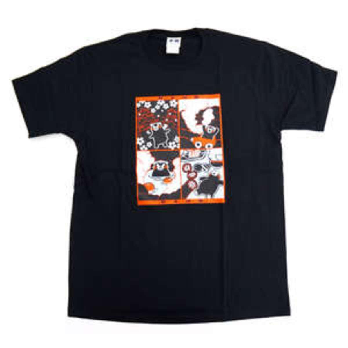 KUMAMON 熊本物語T恤 (黑)