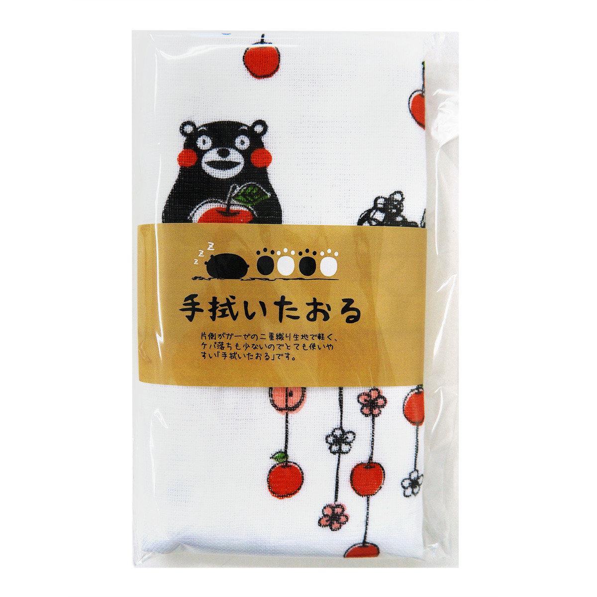 KUMAMON 抹手巾 (蘋果)