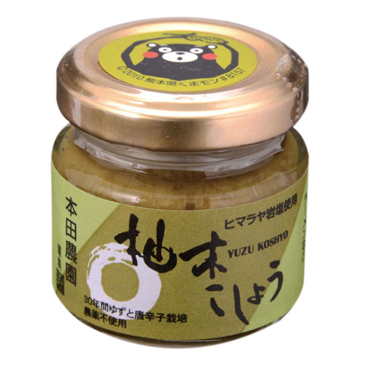 柚子青胡椒醬 (40克)