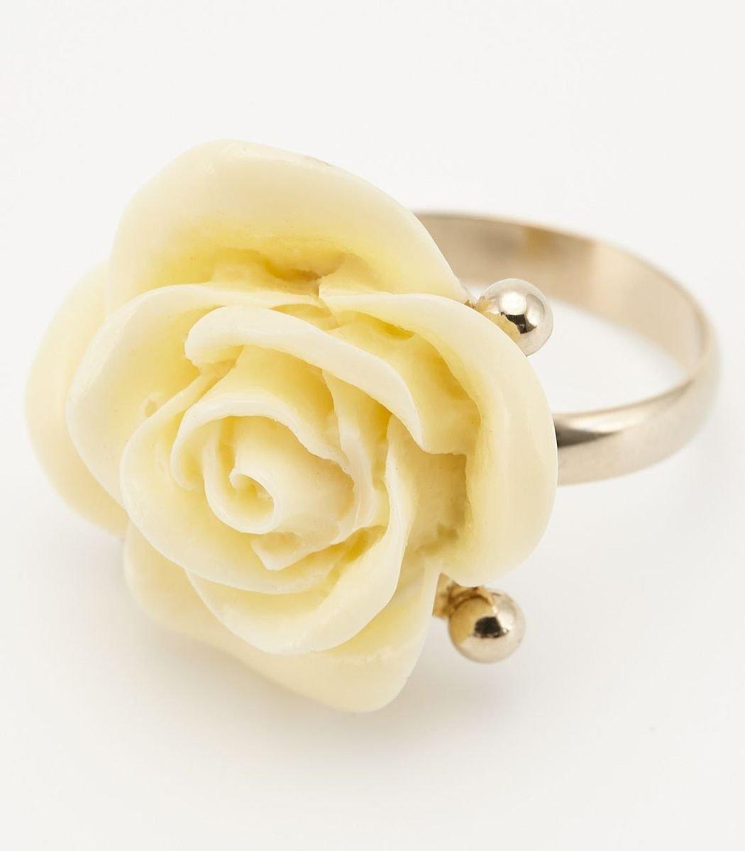 玫瑰花戒指