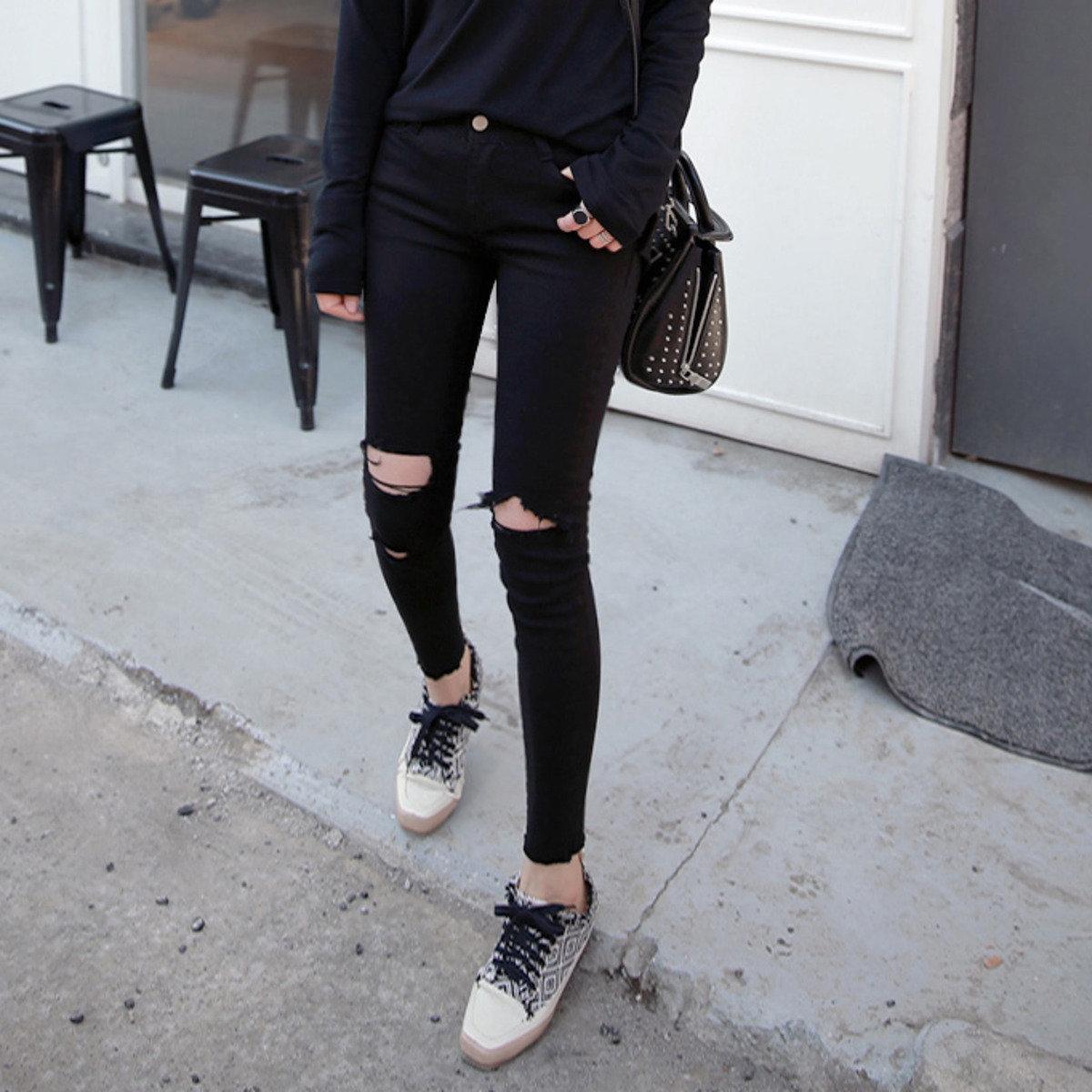 時尚貼身牛仔褲_P000CCEW