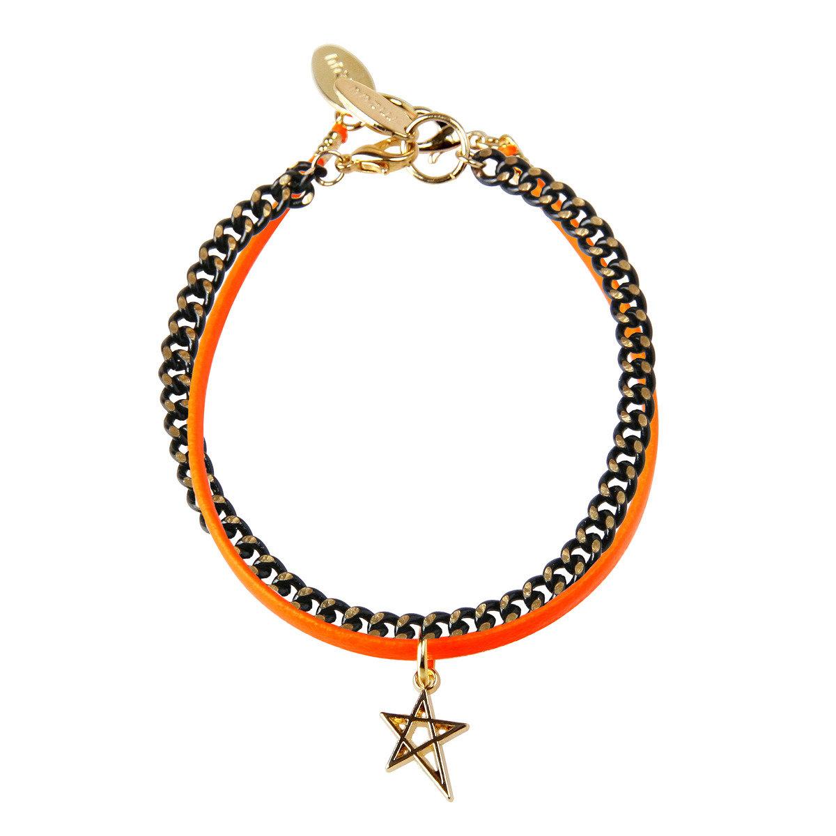 Acid Star-B 色彩星星吊飾手鏈