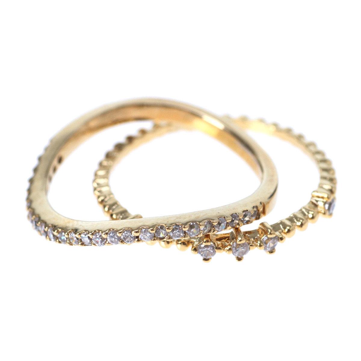 Ring Ring 925純銀閃爍戒指