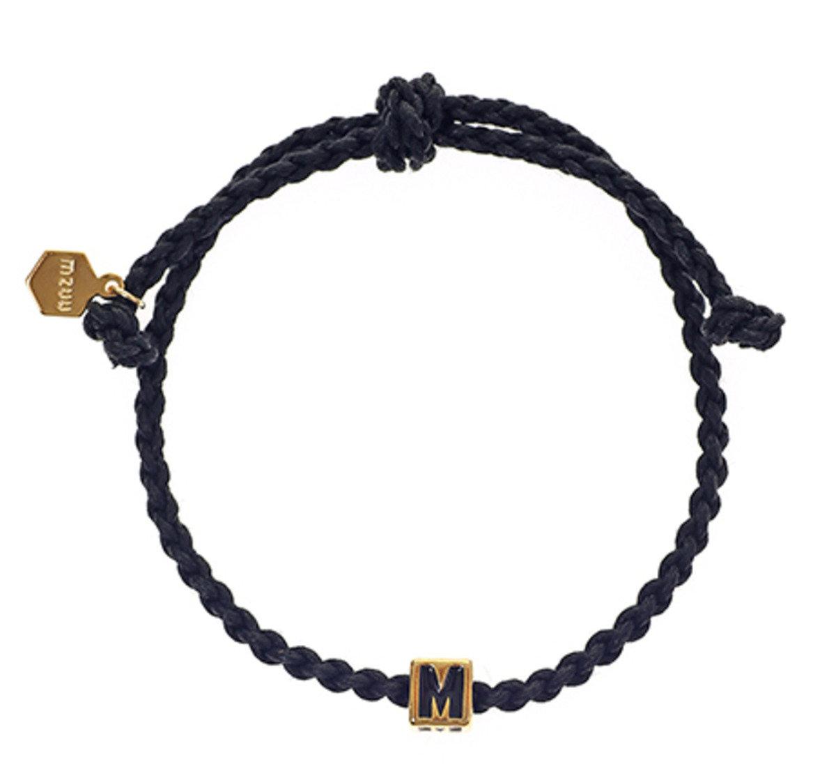 《太陽的後裔》宋仲基同款 ALOHA SOLID 編織手繩 (黑色)