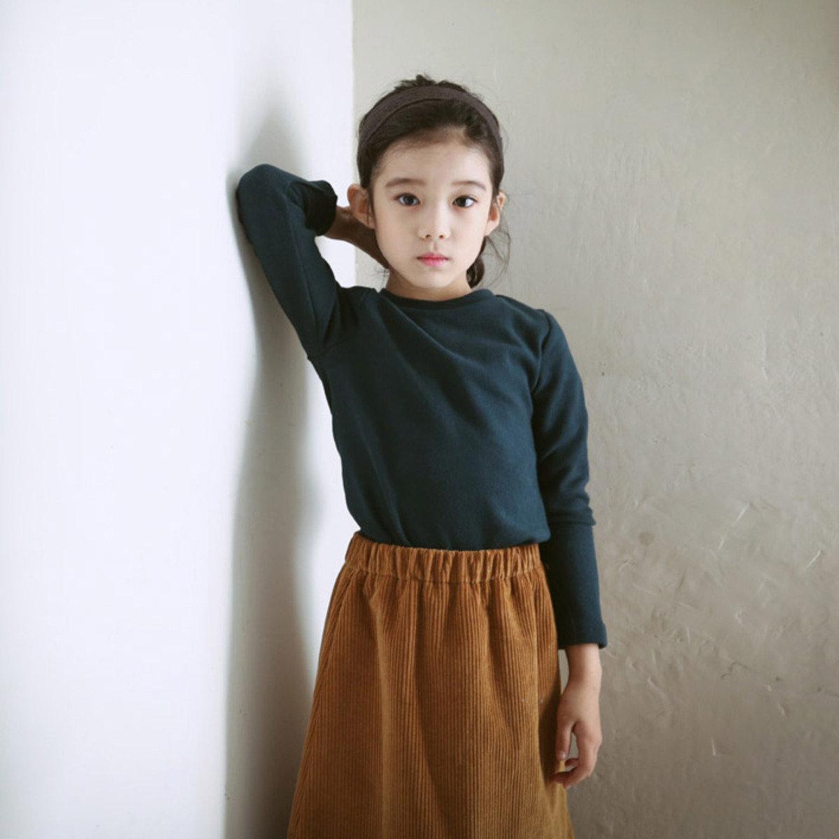 [15 W] 純色圓領T恤_S60773