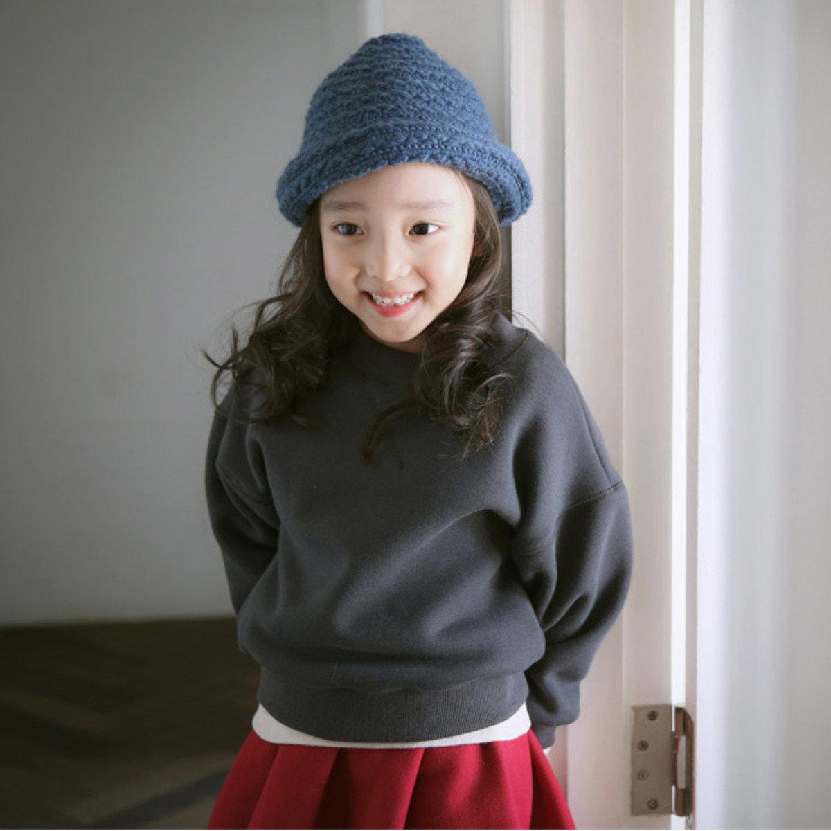 [15 W] 純色休閒衛衣_S61193
