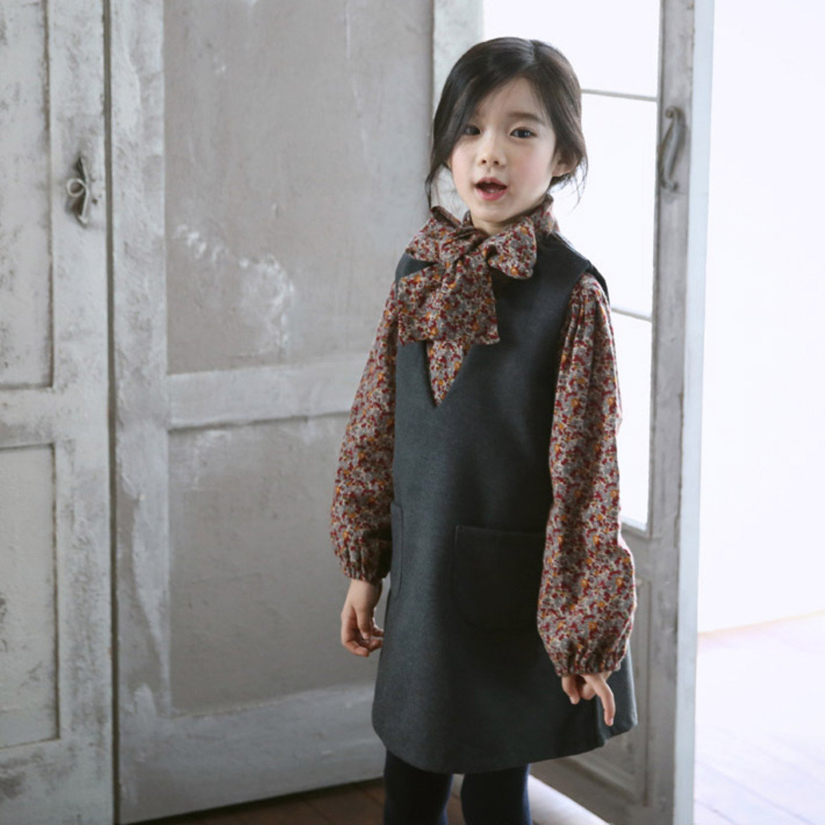 [15 W] 袋款背心連身裙_S61622
