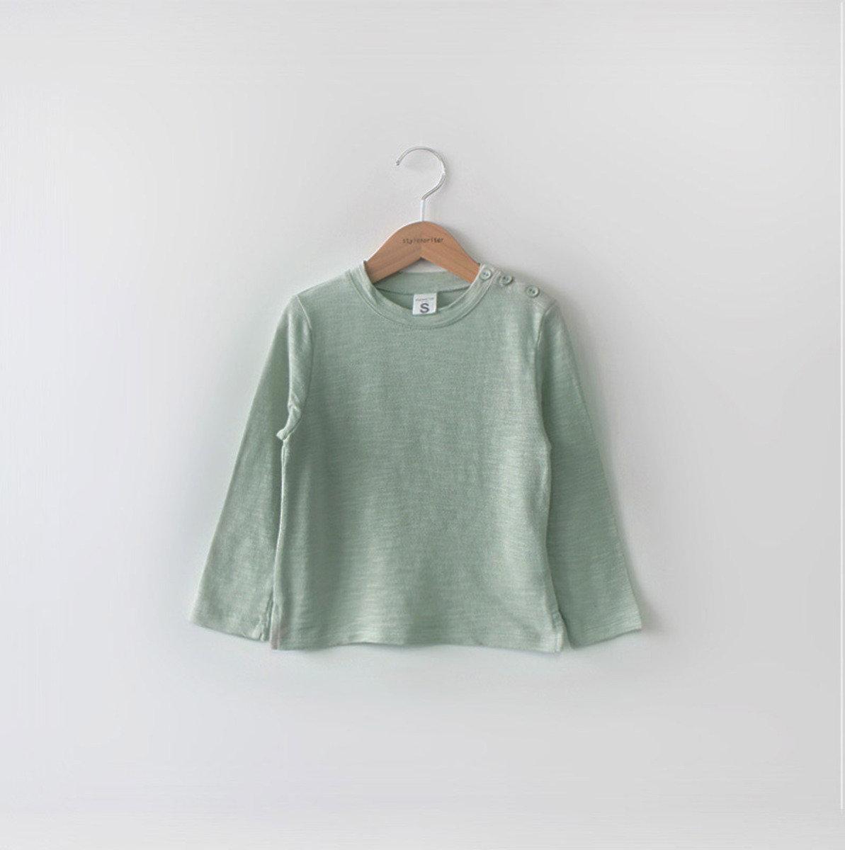 [16 SP] 膊扣鈕款T恤(中性)_S64237