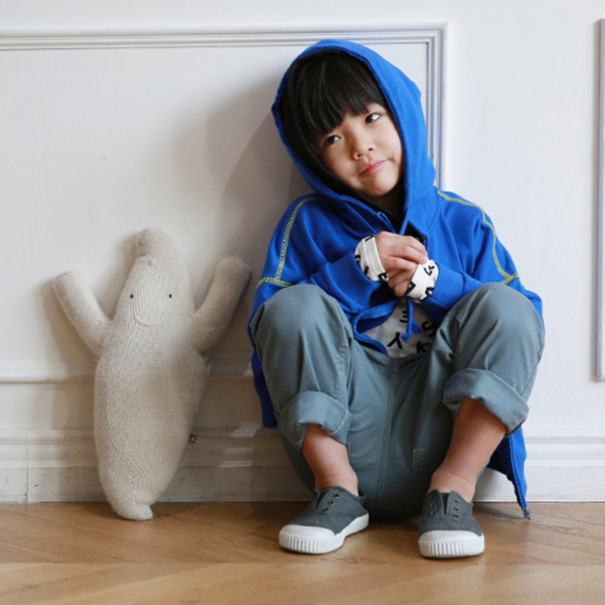 [16SP] 連帽拉鏈外套 (男童)_S64809