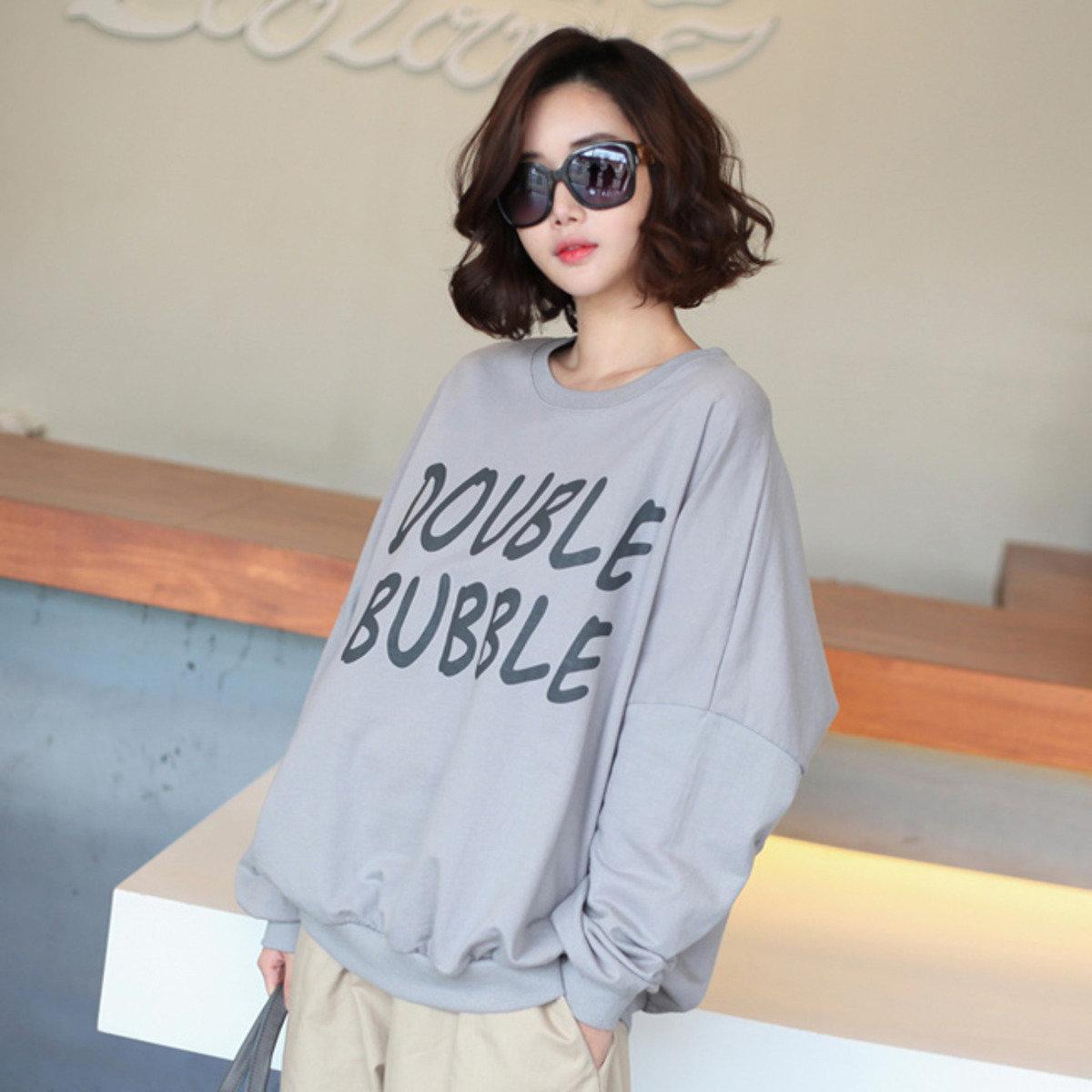 Double Bubble 印字T恤_25846