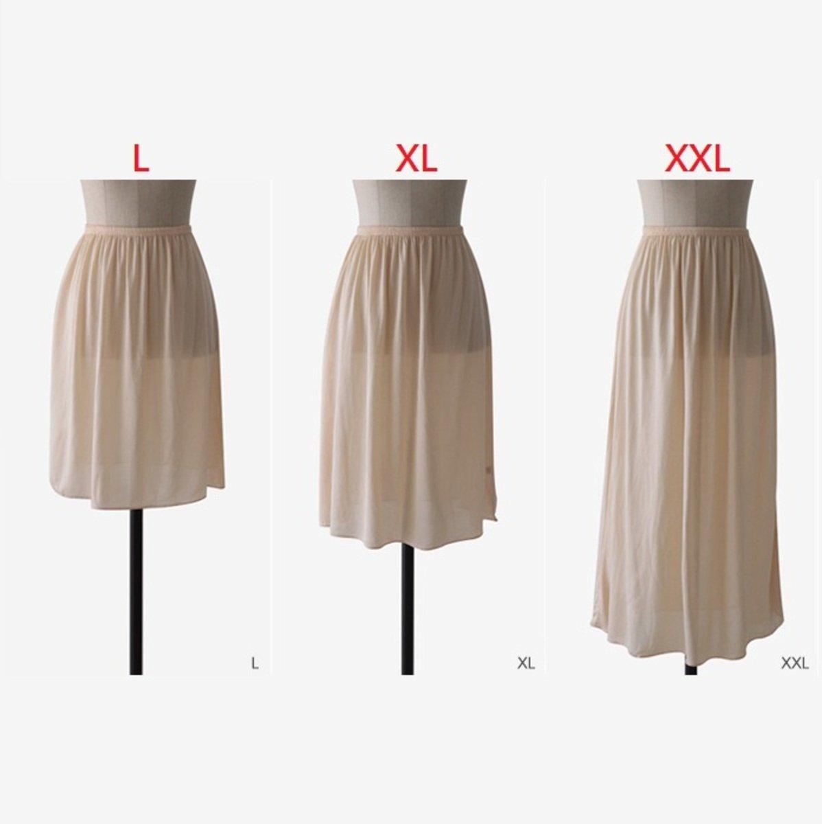 橡筋腰底裙_14674