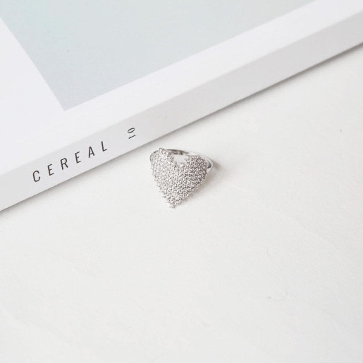 銀色心型戒指_C511PARI10