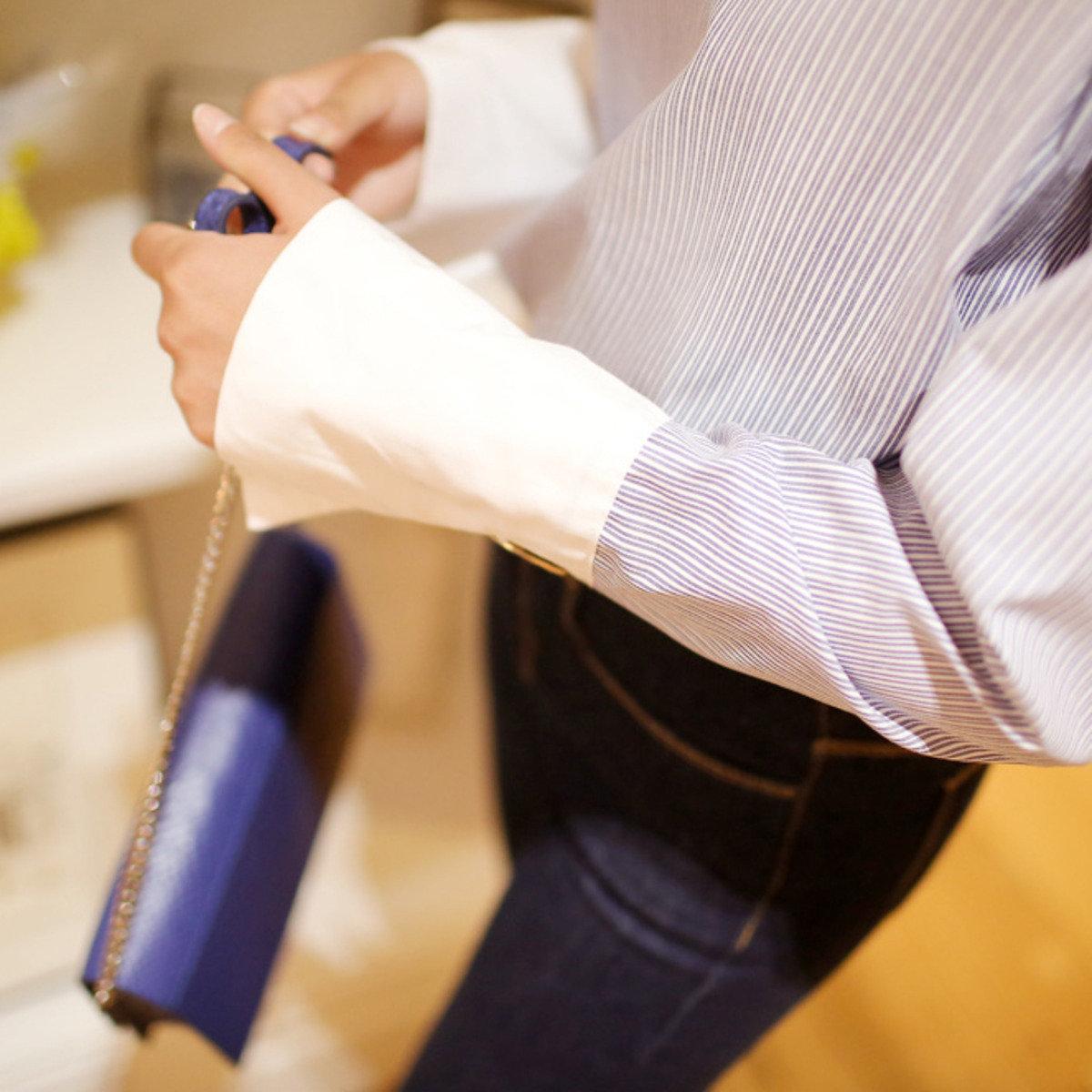 壓紋配飾帶輕巧手袋_C512PABA72