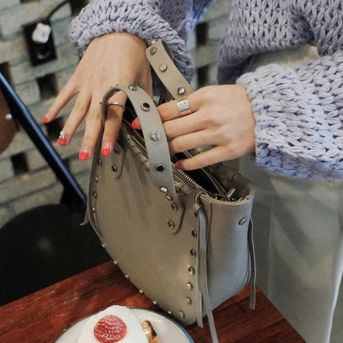 鍋釘設計(兩用)手袋_C63PABA3