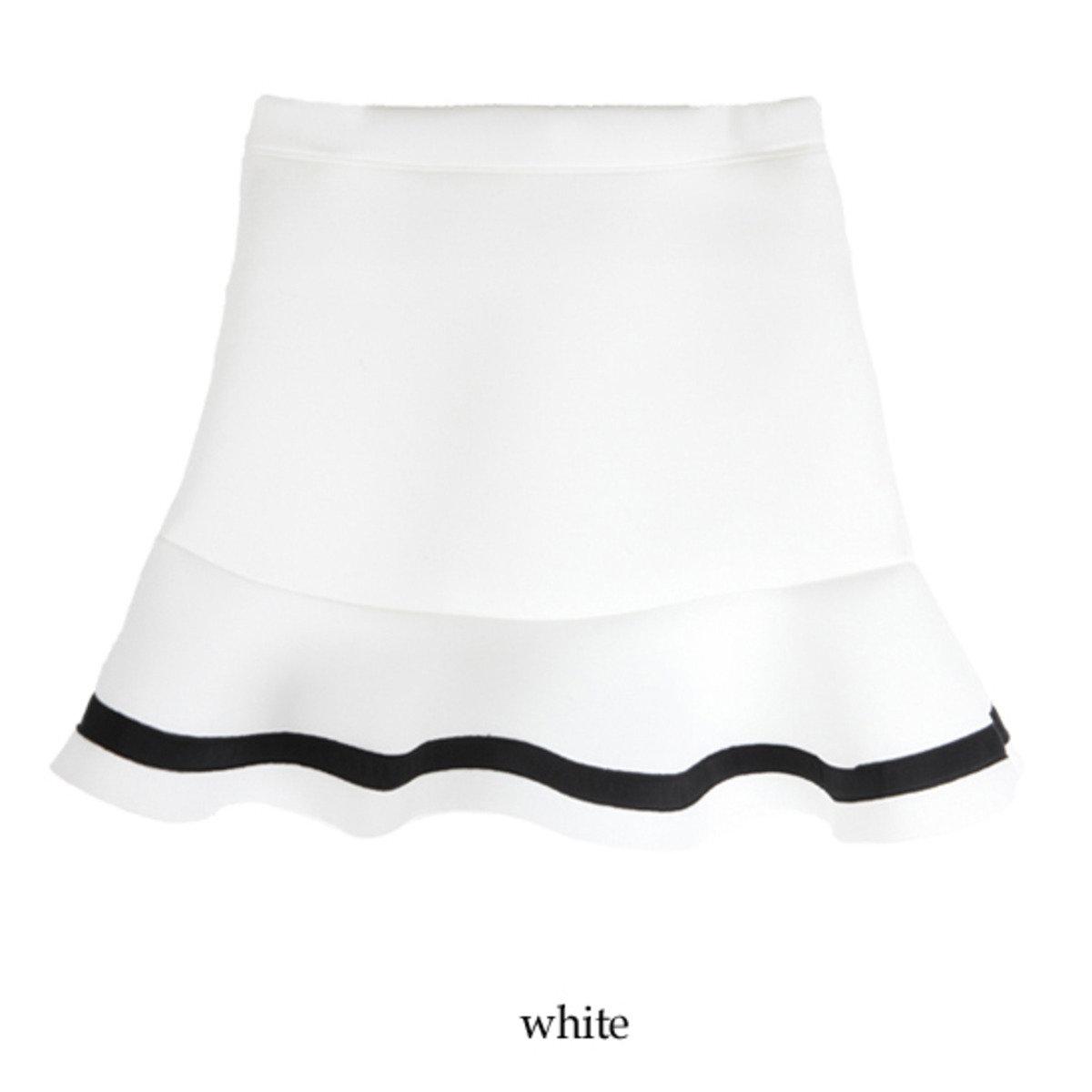 黑邊裙腳短裙_CV-20151117381