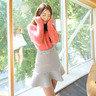 束腰條紋短裙_CV-20151117388
