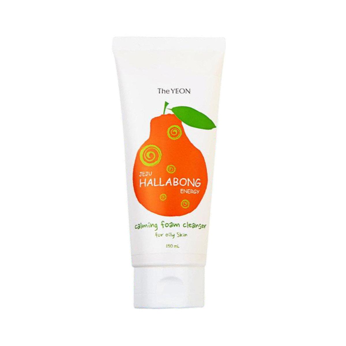 漢拿峰柑橘油性皮膚潔面泡沫