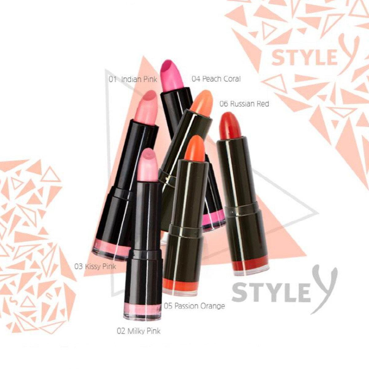 Style Y 唇膏 - 六色