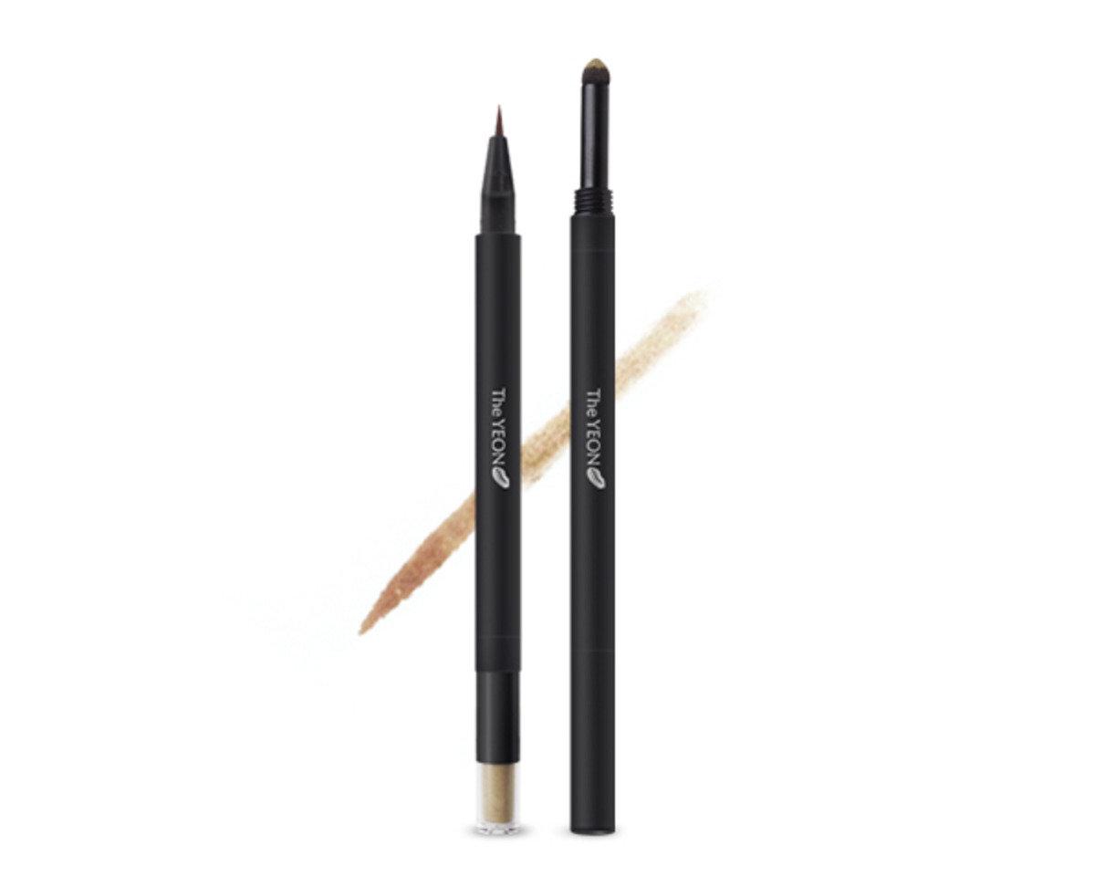 雙頭紋身液體眉筆 (2號 淺啡色)