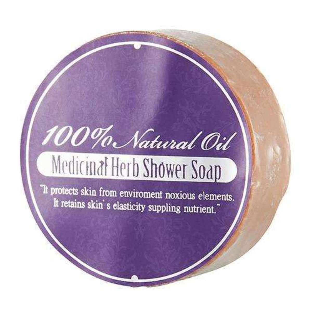 天然中草藥沐浴皂