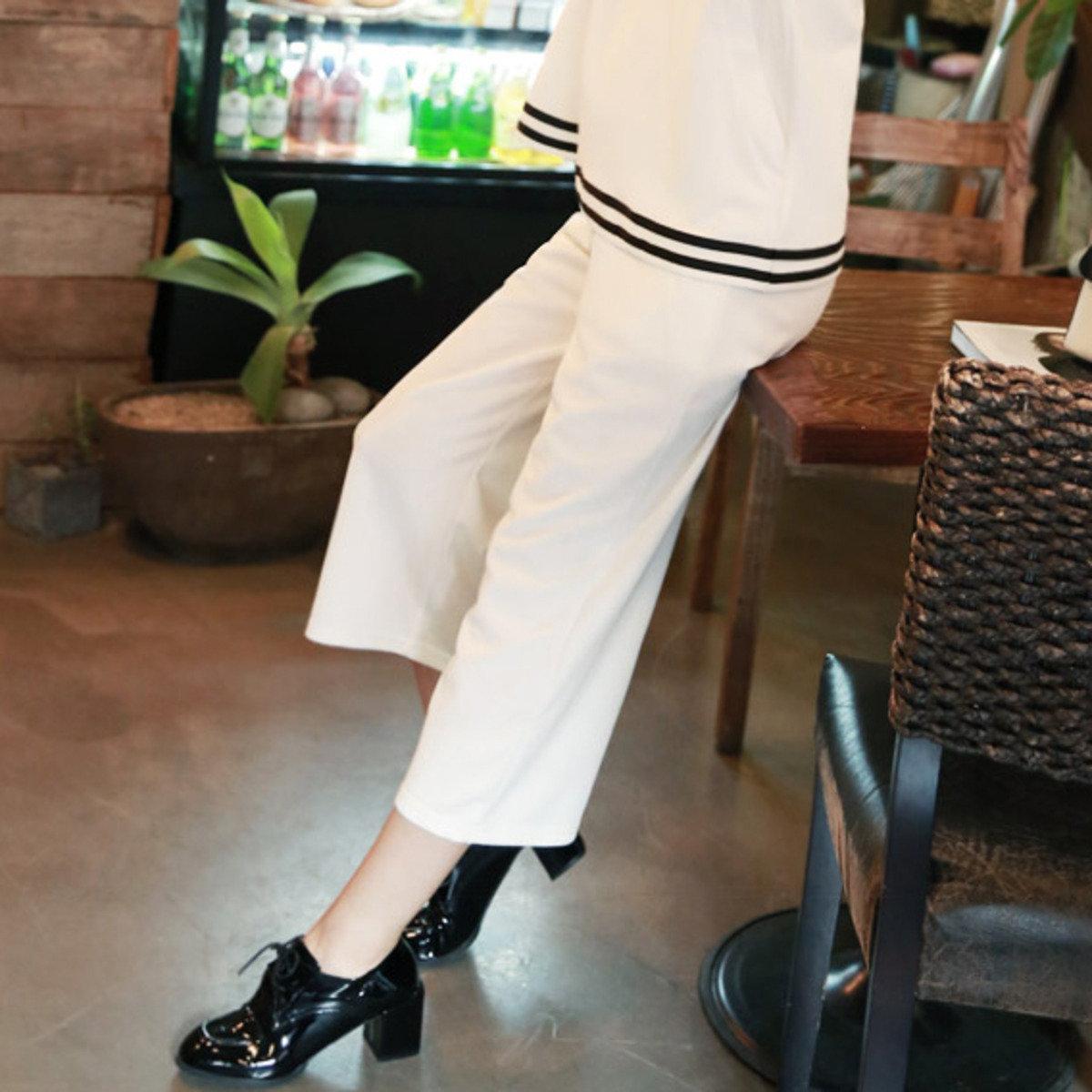 P-1533_綁腰繩八分運動褲 (孕婦裝)