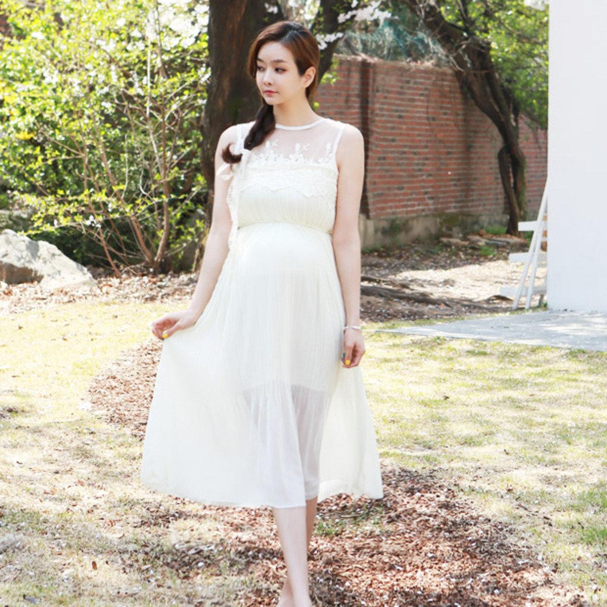 D-2141_配喱士上身連衣裙 (孕婦裝)