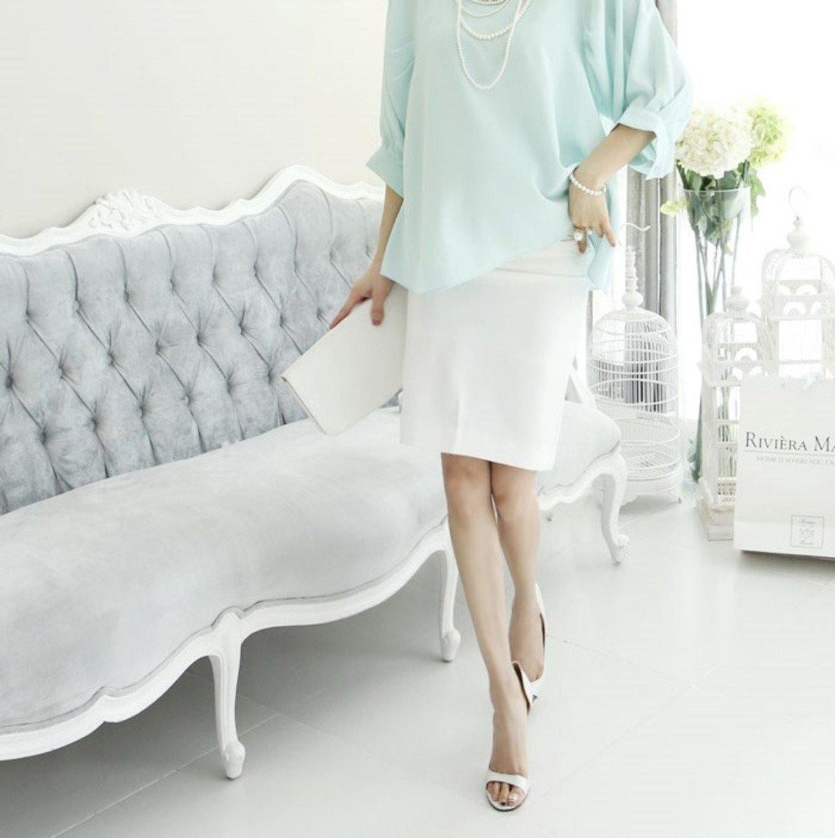 SK-091_直腳半截裙 (孕婦裝)