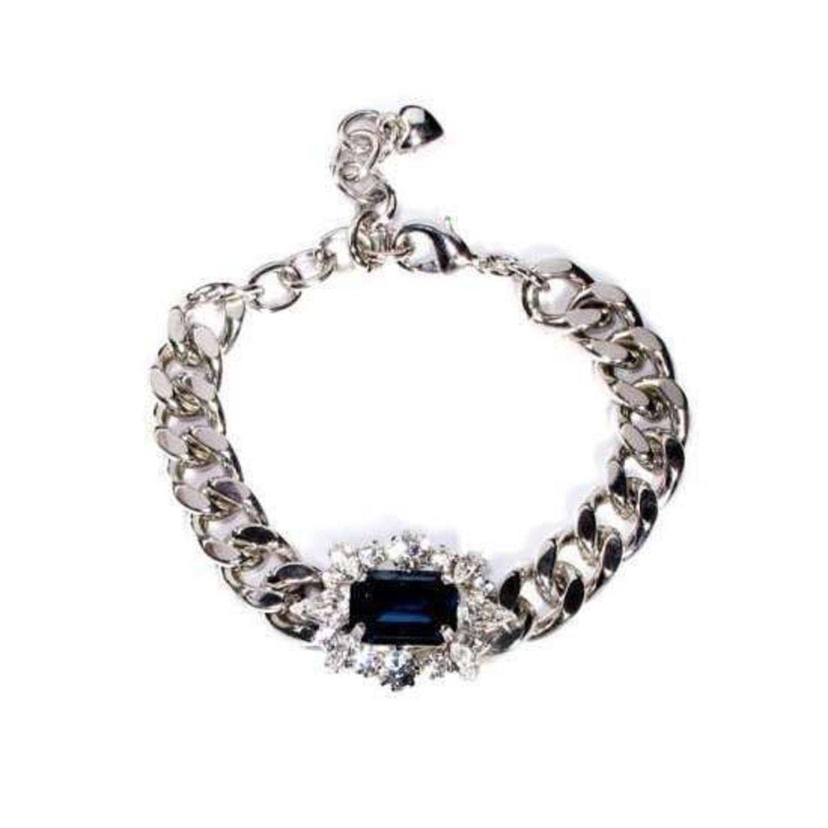 藍寶石鑲鋯石手鏈