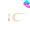 14K月亮形狀耳環(3色)