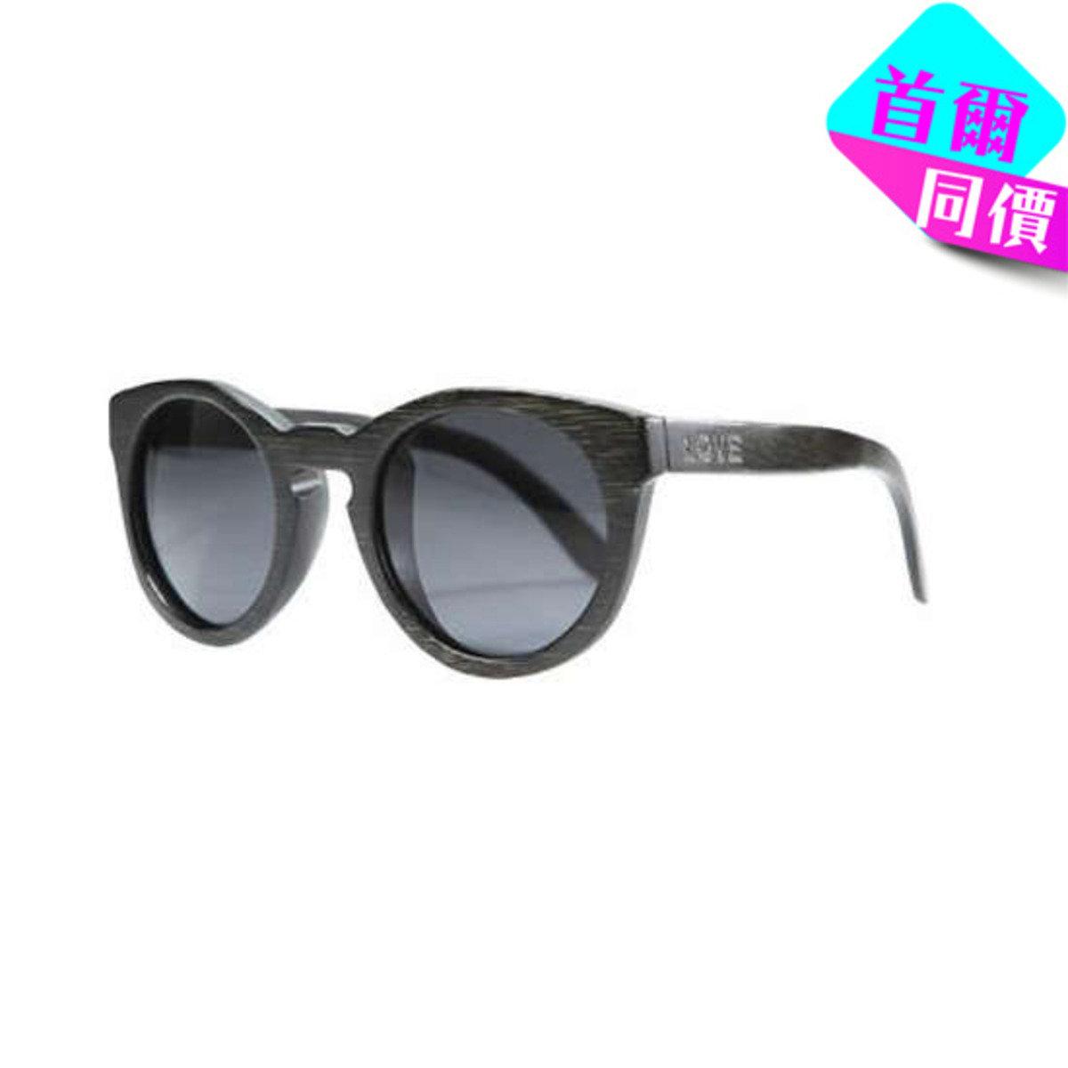 LACE -  黑色竹製框架太陽眼鏡