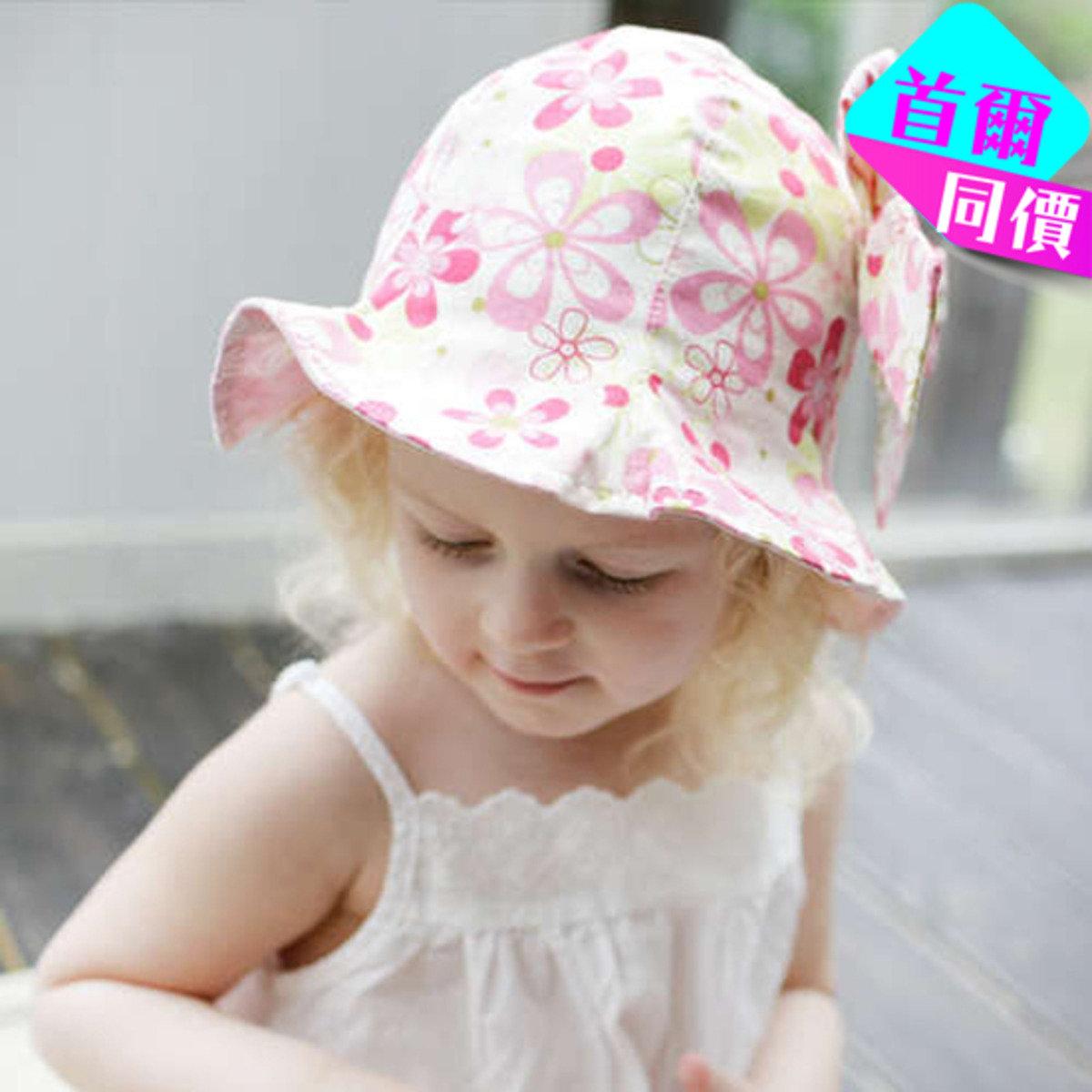 幸運花仙子防曬太陽童帽