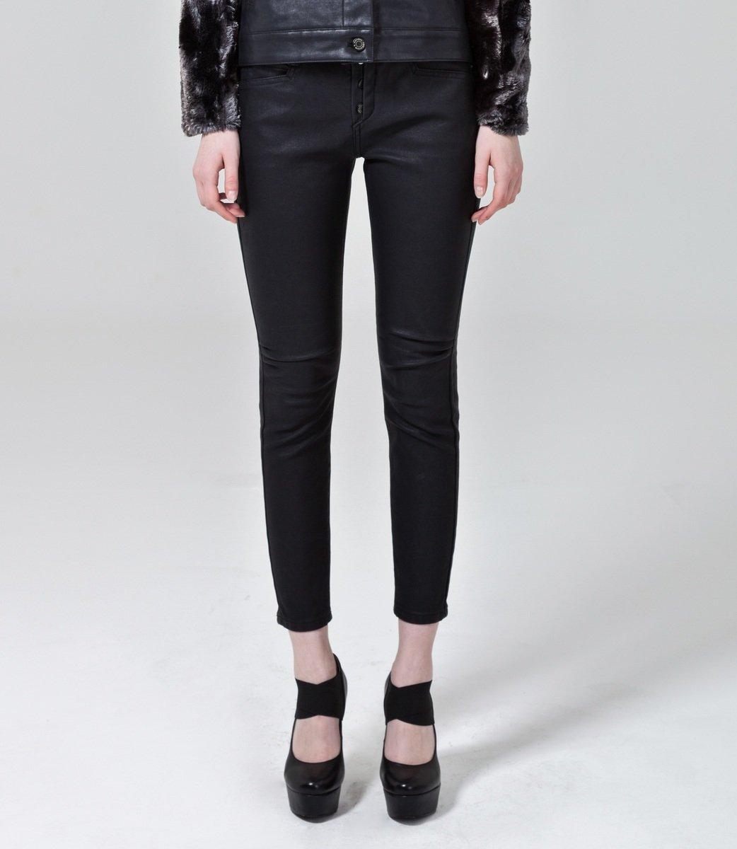 AKH15FW21 黑色修身牛仔褲