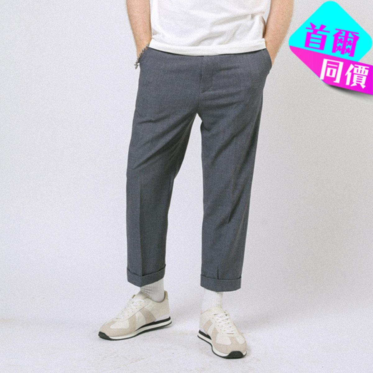 簡約純色西褲P000CSDR