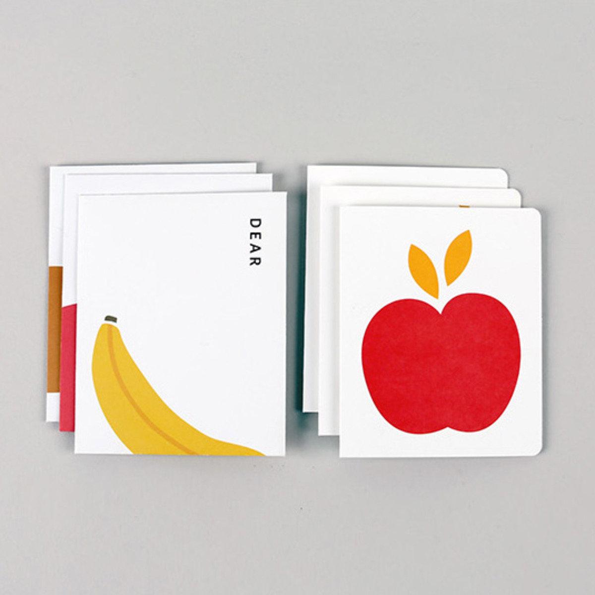 卡,信封,小卡套裝 07 Fruits_nacoo_16962