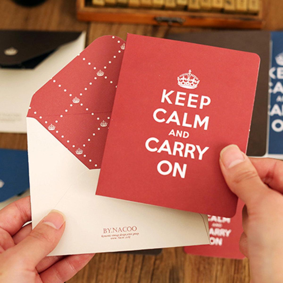 卡,信封,小卡套裝 05 Carry on_nacoo_16964