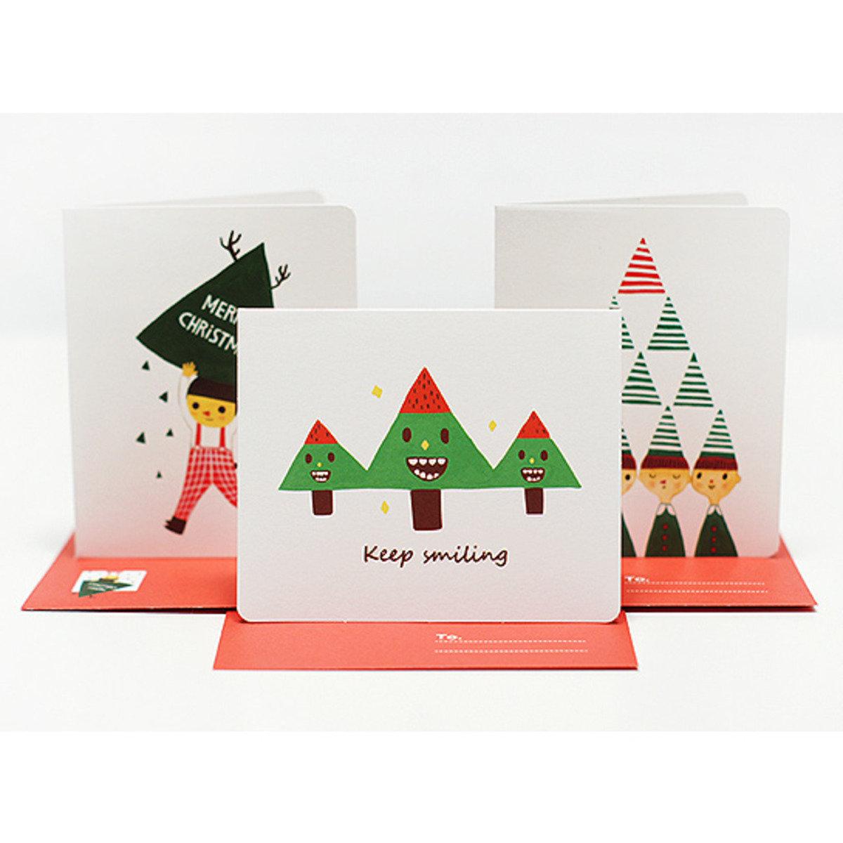 卡,信封,小卡套裝 01 Christmas_nacoo_16968